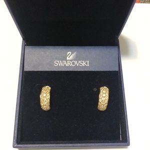 Swarovski earrings,